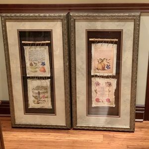 Other - Beige and Gold Vintage Paintings Frames